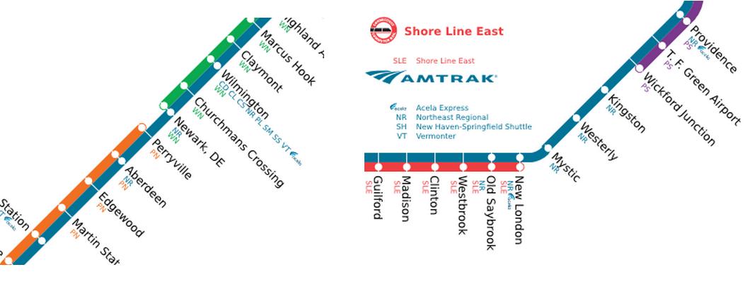 Gaps On The Northeast Rail Corridor That Only Amtrak Bridges