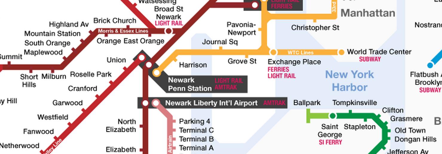 Subway Map Stops Christopher St.My Favorite Regional Transit Maps
