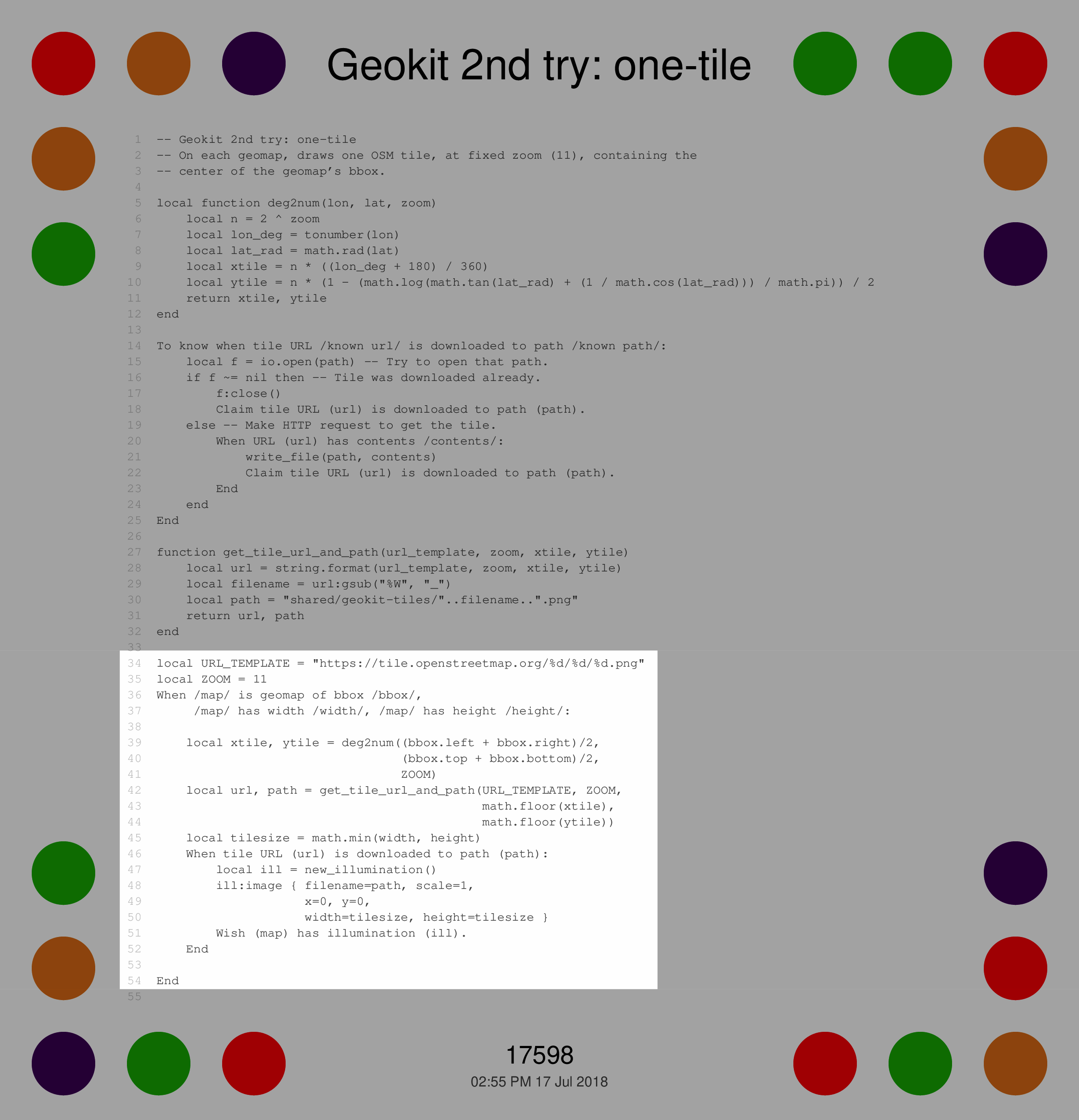Notes from Dynamicland: Geokit